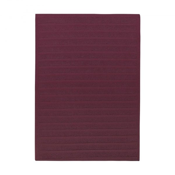 Badrumsmatta New Plus Light Bordeaux