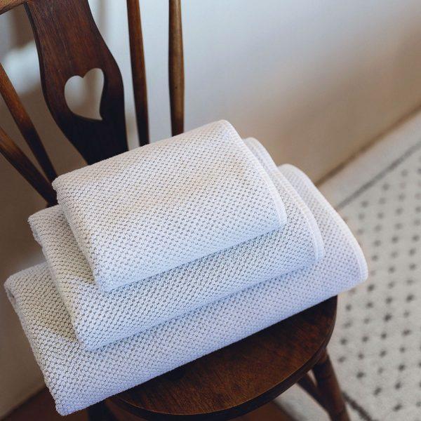 Handdukar Linen Waffle