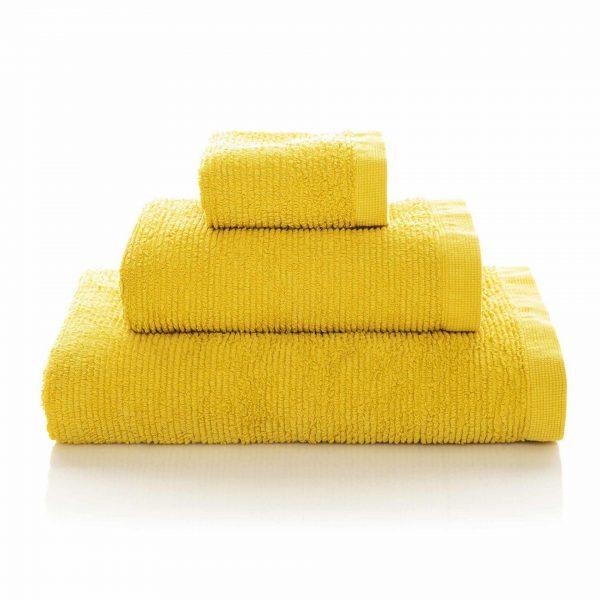 Handdukar Ribbon Mustard