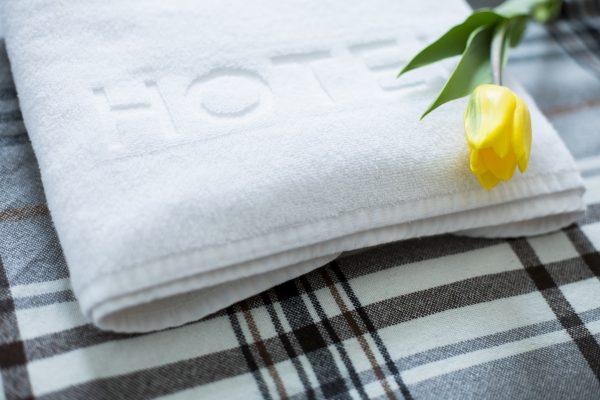Handdukar med eget varumärke