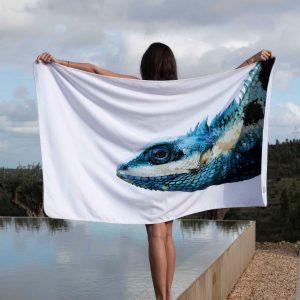 Iguana Strand & Badhandduk