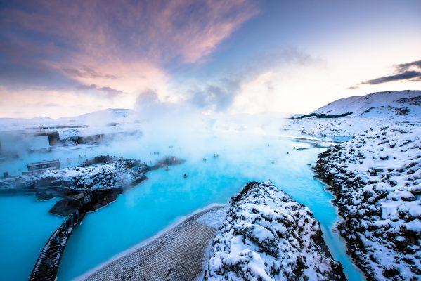 Blå lagunen Spa Island