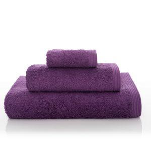 New Plus Handduk Lila